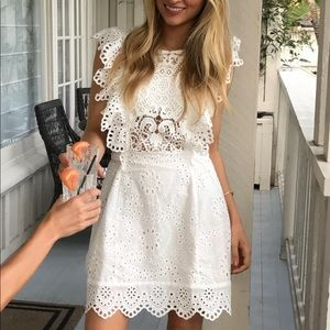 Nightcap Lace Dress